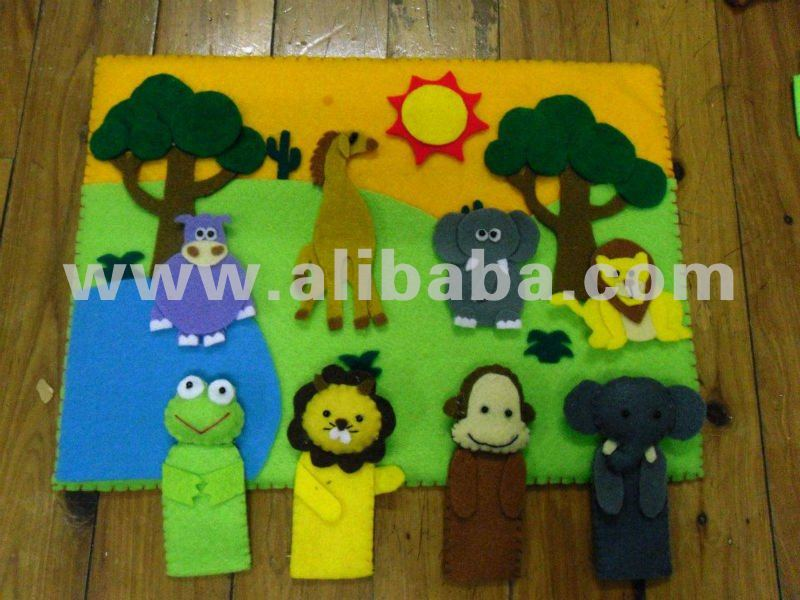 Playboard & Puppet Fingers