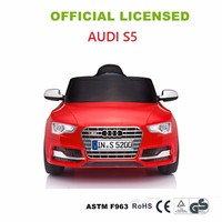 New License AUDI S5 Kids Ride On Car Children Electric Toys Cars 6V And 12V Battery Powered Baby Race Car