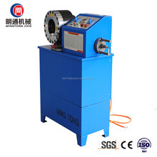 Hose Crimping skiving Machine for Diameter 1/4 to 2 Inches