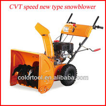 2013 New type hot sell 6.5HP snow thrower/snow blower cleaning tools