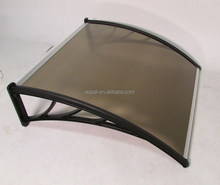 Denmir Door & Window Awning-Canopy (Polycarbonate Twin Wall-Brown 6 ft X 39 in)100% Virgin Materials