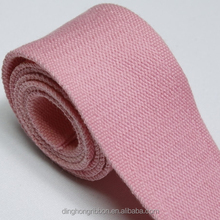 (19)40mm- direct factory price flat weave polyester ribbon with solid colour