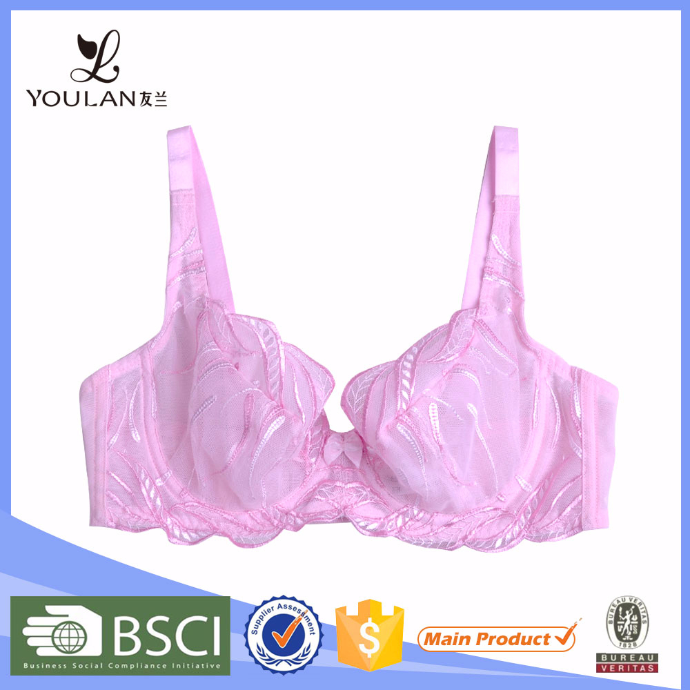 Wholesale Sexy Mature Lady Transparent Sexy Bra With Mini Skirt