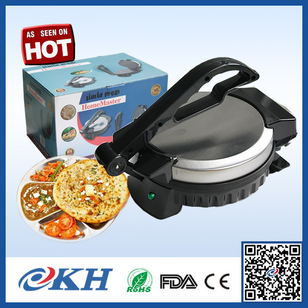 India Stainless Steel Electric Tortilla Roti Maker, Indian Chapati automatic roti maker for home