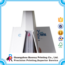 Guangdong factory OEM cheap high-grade new age cardboard book covers