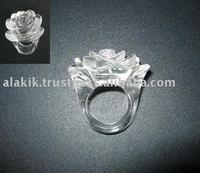 Crystal Quartz Finger Ring