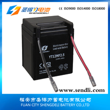 Good Starting Function Motorcycle Mini Battery 12v 2.5ah 12N2.5-3C