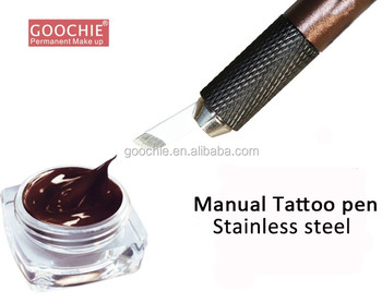 professional and high quality microblaing pigment eyebrow permanent makeup ink
