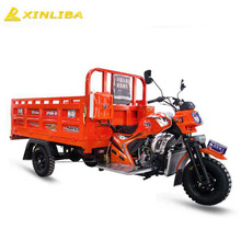 hot pickup 3 wheel closed cabin cargo tricycle large loading china
