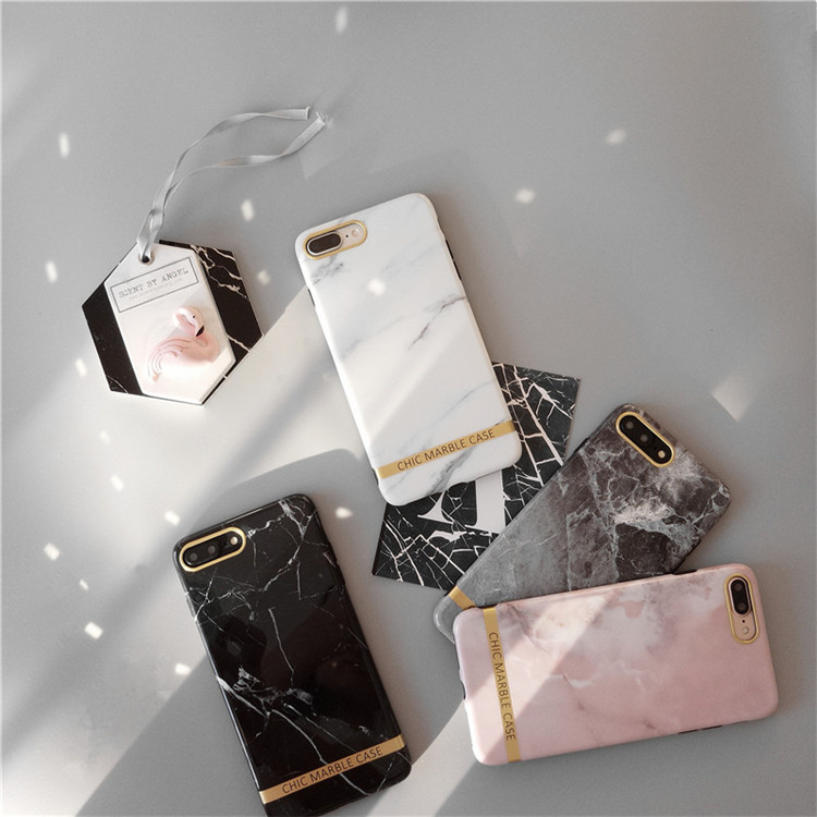 2018 Stylish Marble Cell Phone Case Cover For iphone