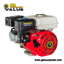 Genour Power ZH160 168F LPG/GAS/Gasoline/pertrol Generator engine 5.5hp GX160 electric start with tank air cooled high quality