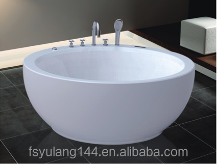 AD-717 China GuangDong Round jcuzzi bathtub 150CM faucet bathroom bath parts customize hydromassage hot tubs