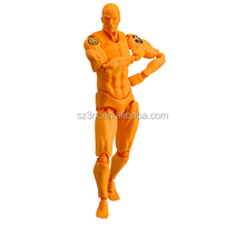 OEM Anime Nude Movable Joints Plastic Action Figures/1/6 Scale Muscular PVC Action Figure Body/Custom Plastic Action Figure