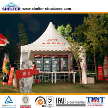 Useful aluminum pyramid tent for street market