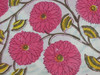 KTCF-435 Camric fabric Beautiful Floral Designer Sanganeri Hand Block Printed from Jaipur Whole seller