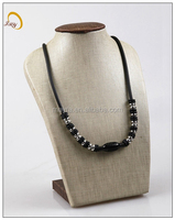 stainless steel chain black color necklace
