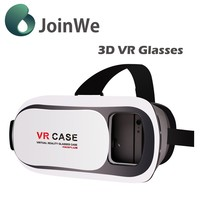 Good function and cheap price VR BOX VR Virtual Reality VR Case Cardboard 3D Glasses For 3.5 - 6.0 inch JW