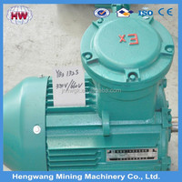 YB3 60 kw electric motor/flameproof three-phase asynchronous motor