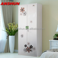 small wardrobe designs/steel closet wardrobe/metal iron almirah