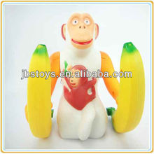 Battery Operated Orangutan with Banana Music and Light