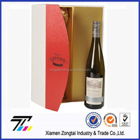 customized printed strong corrugated individual wine boxes