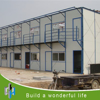 prefabricated house used for office caravan