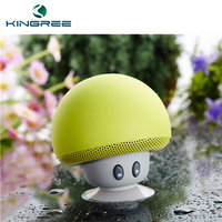 2017 Gift Cartoon Mushroom Colorful Mini Blue tooth Speaker Portable Wireless Blue tooth Speaker With Sucker