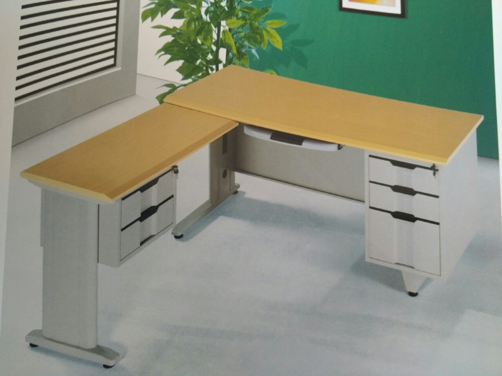 HANDINHAND OD-LD knock down L-shape combination office desk Steel workstation