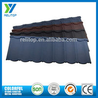 Professional stone cheap price metal roof tiles for house