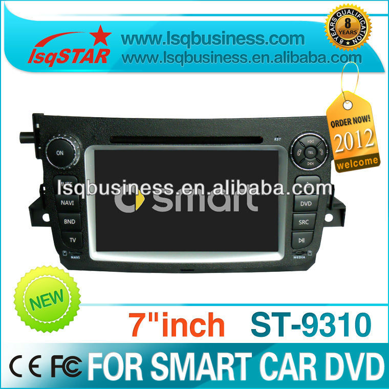 Mercedes Benz smart 2011-2012 with car camera/AUX/IPOD/SD/USB/car music player,ST-9310