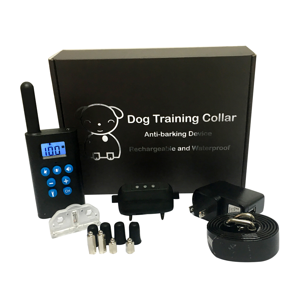 2018 Upgraded 5 Options Remote 300M IP67 waterproof dog training collar