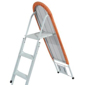 IB-6DN cheapest Fanrong new European big size patent design metal portable folding ironing board ladder