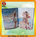 High quality perfect bound landscape book printing