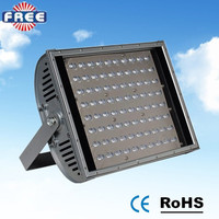 Outdoor waterproof aluminum shell 100w led flood light heat sink