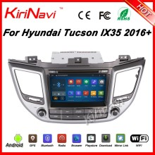 "Kirinavi WC-HI8085 android 5.1 8"" touch screen car stereo player for hyundai ix35 tucson 2016+ car audio navigator GPS system"