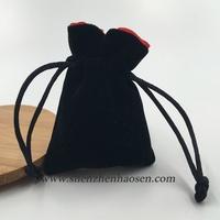 2016 NEW Black Velvet Gift Bags Pouches for Perfume Bottles