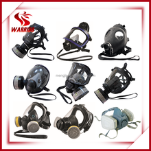 full face chemical gas mask/ canister mask