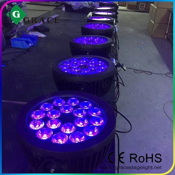 18*18W RGBWA UV 6IN1 wireless led par can