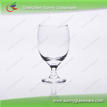 Hand made party red wine glasses