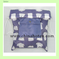 fashion polyester tote/shopping draw string bag