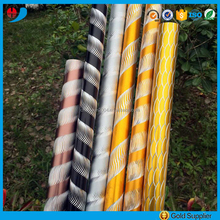 Factory price anodized aluminium engraving pipe curtain rods/poles