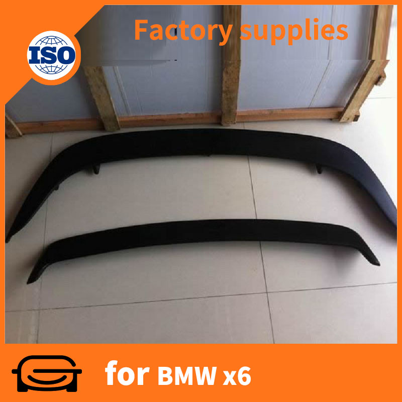 car ABS rear roof spoiler car tuning car spoiler Top quality for BMW X6 E71 2008+ auto accessoires