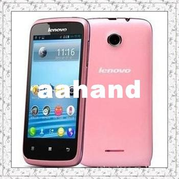 "Original Lenovo A376 4.0"" IPSDual core CPU 4GB ROM 512MB RAM Mobile Phone GPS Navigation Wi-Fi Bluetooth Unlock Android 4.0 3G"