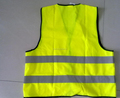 Promotional High Visibility Safety Children/adult road safty Reflective Vest customized