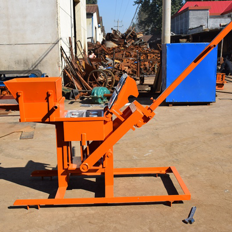 Simple machines QMR 2-40 flyash block brick making machine