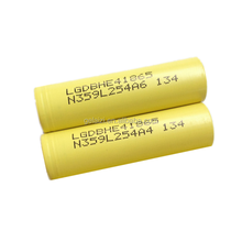 Original LG 18650 he4 3.6V 2500mAh battery 18650 35A high drain big powerful vape lithium battery