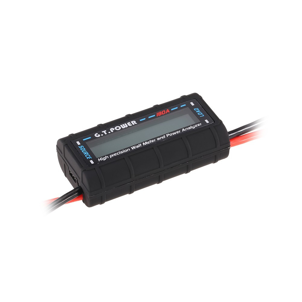 911125-180A High-precision Watt Meter and Power Analyzer for RC Drone Aircraft Helicopter Car Boat