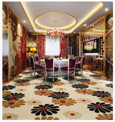 2015 Superior quality cut pile wool wilton carpet loom for banquet,culb,hotel