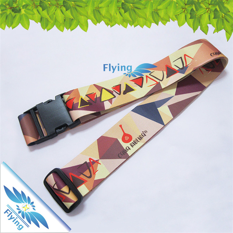 Personalized Fashion New Item Promotional Luggage Belt/Strap