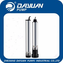 China supplier garden decoration submersible well water pump specifications